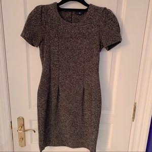 Gap brown short sleeve dress